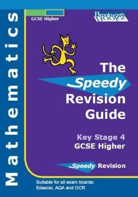 NEW - Speedy Revision Guide for GCSE Higher Mathematics (Paperback) 1903201241