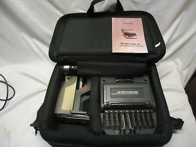 Stenograph Stentura 200 with Case, Stand, Paper and Feeder Tray