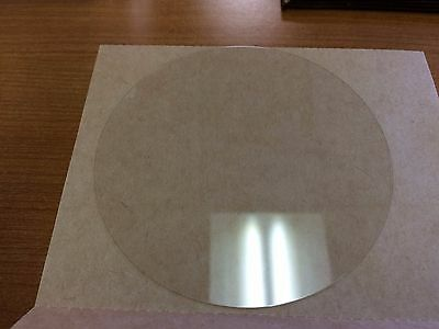 Qioptiq Solar Cell Coverglass, CMG 100 glass wafer, 100mm diam, 0.1mm thick