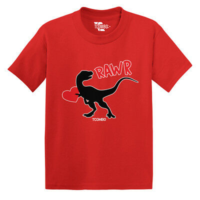 Dinosaur Valentine Rawr - Love Hearts Cupid Candy Rex Toddler/Infant T-shirt