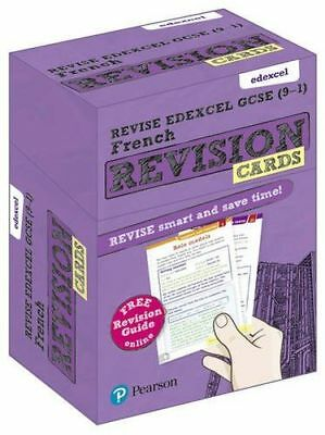 Revise Edexcel GCSE (9-1) French Revision Cards: with free (Cards) 1292182393