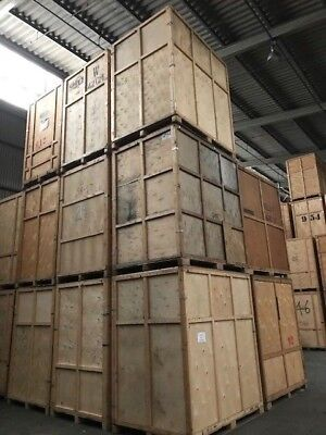Removals Wooden Storage Containers 250Cube