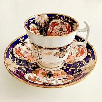Spode coffee cup, Imari, sublime condition 1813-1821