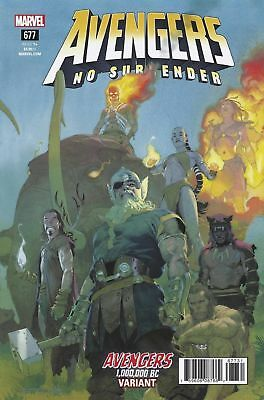 Avengers Issue 677 - Esad Ribic Avengers 1,000,000 Bc Variant - No Surrender