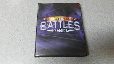 Doctor Who Battles in Time Folder & Cards