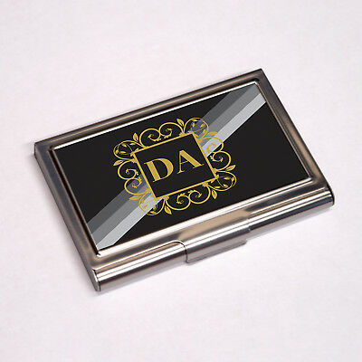 Personalised Business Card Holder Colour PrintedAny Name any Logo Any Image