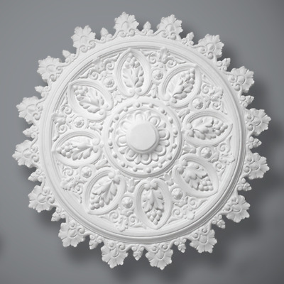 "Plaster Ceiling Rose Victorian 'The Audrey' 770mm/ 30"" Handcrafted"
