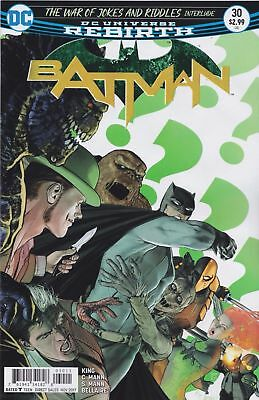 Batman Issue 30 - War Of Jokes And Riddles Interlude - Dc Comics Rebirth