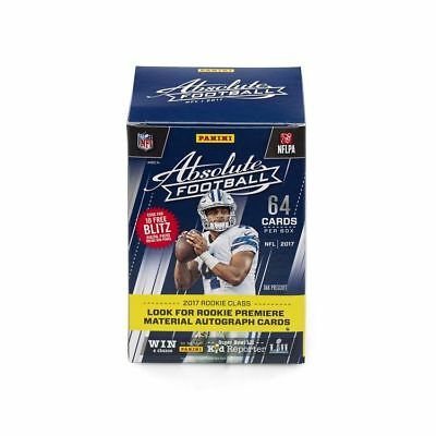 2017 Absolute Football Nfl Trading Cards - Box Mit 8 Boostern (64 Karten).