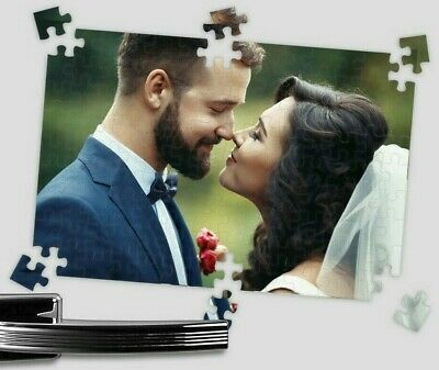Personalised Photo Jigsaw Puzzle A4 Gift Magnetic Present Birthday Idea Gift