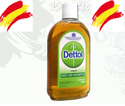 DETTOL Liquido Transfer Antiseptico  500ml Tattoo Stencil