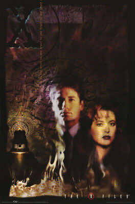 Lot Of 2 Posters:tv : X-Files - Mulder & Scully -   Free Ship  #3385   Rw15 T