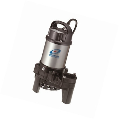 Tsurumi 3PN (50PN2.25S) 1/3 hp, 115V, submersible pond & waterfall pump, stainle