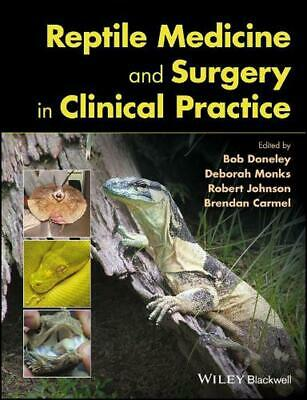 Reptile Medicine and Surgery in Clinical Practice Hardcover Book Free Shipping!