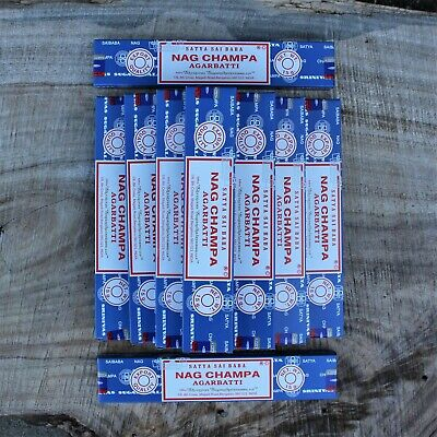 Genuine Satya Sai Baba Nag Champa Incense BULK BUY FRESH 2019 Stock
