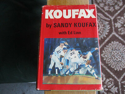 1966 Koufax First Edition With Dust Jacket!