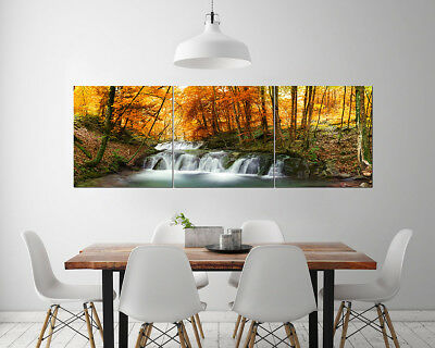 Wall Decor Art Abstract Print Oil Painting on Canvas NO FRAME FOREST & Water 191