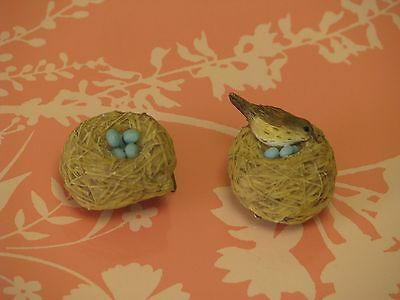 Hallmark Marjolein Bastin Wren Eggs Bird Nest Clips New