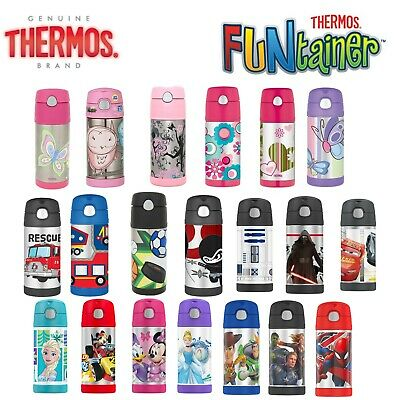 THERMOS 355ml Funtainer Kid Stainless Vacuum Flask Insulated Hydration Bottle