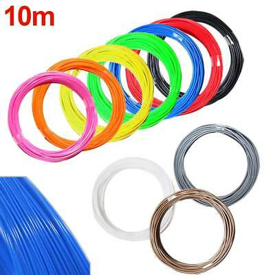 10M 1.75mm Color Print Filament ABS Modeling Stereoscopic 3D Drawing Printer Pen