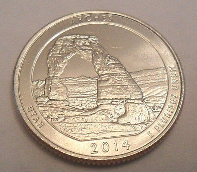 2014 D Arches National Park Quarter  **free Shipping**