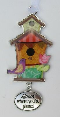 d Bloom where you are planted SPRINGTIME BLESSINGS Birdhouse Ornament ganz