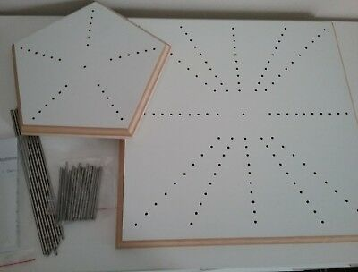 BLOCKING BOARDS x 2 FOR CROCHET PLUS EXTRA PINS - NEW