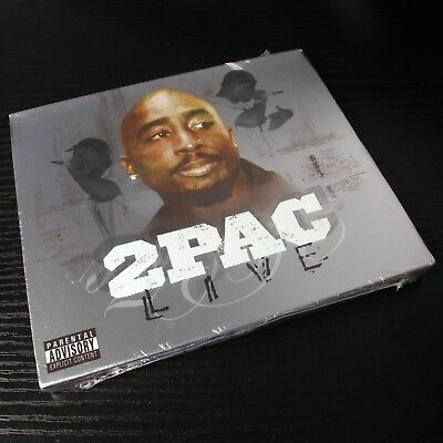 2Pac - Live 2004 USA CD Sealed NEW Death Row Explicit Version #20-3*