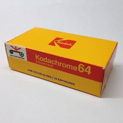 Kodak Kodachrome 64 Instamatic 126 Film Kassette Cartridge Photo Lomo FROZEN rar