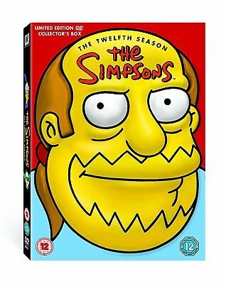 SIMPSONS - Temporada 12 (Edición Limitada ' CÓMIC Guy ' Cabeza) [DVD] - DVD l4vg