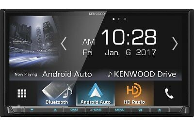 "Kenwood DDX9704S DVD/CD Player 6.95"" Android Auto Carplay HD Radio Bluetooth"