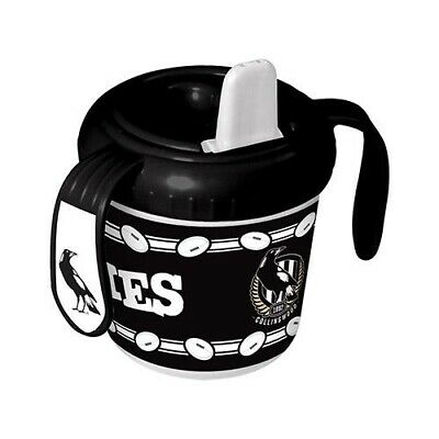 Collingwood Magpies AFL Footy Baby Toddlers Sipper Cup