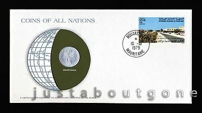 Lot171 Fdc Unc ─ Coins Of All Nations Uncirculated Stamp Cover