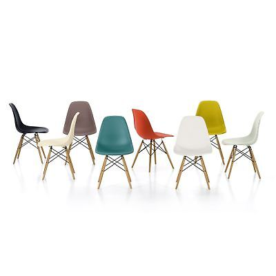 Set of 4 DSW Dining Chairs Eiffel Inspired Eames Retro Office Lounge Chair