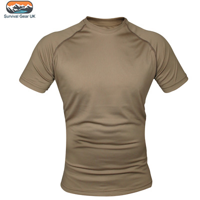 Viper Mesh-Tech Armour T-Shirt Coyote Men's Recon Tactical Army Military