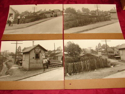 LVRR - 4 Views of Dupont, Pa 1929 - SEE PHOTOS