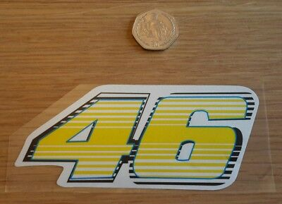 Valentino Rossi 46 The Doctor Superbike Sticker Graphic Decal Motorbike Moto Gp