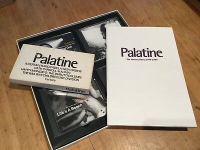Palatine - The Factory Story 1979-1990 4 CD boxset With VHS Tape & Booklet