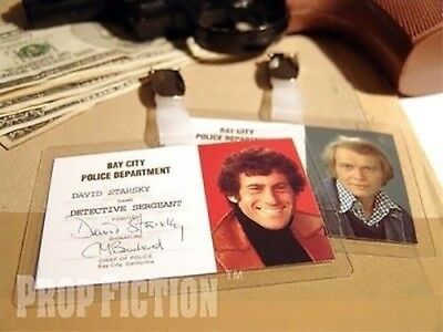 Starsky & Hutch - Bay City Police Clip-on Prop / Cosplay ID Cards