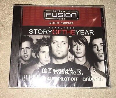Nintendo Fusion Tour Music Sampler: Story Of The Year, My Chemical Romance NEW