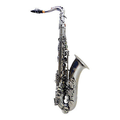 Power Beat Bb-Tenor Saxophon Black Frosted mit Koffer