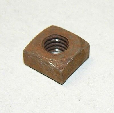 "3/8""-16 Square Nuts (Semi-Finished)- Coarse Thread - Plain Finish-Lot of 50 Pcs."