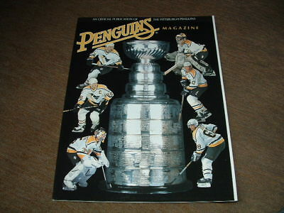Pittsburgh Penguins Magazine 1996 Eastern Conference Finals Vs Florida Panthers