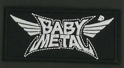 "BABYMETAL BAND EMBROIDERED PATCH - 4.25""x2"" - Kawaii Metal J-Pop J-Rock"