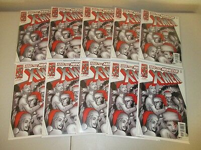 X-Men #109  (Wholesale Lot of 10 Issues)  100 Page Monster Issue, Marvel 2001