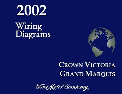 2002 ford crown victoria grand marquis electrical wiring diagrams schematic  book