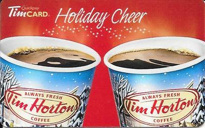 *NEW* 2017-Holiday Cheer-Tim Hortons Tim Card-NEW-CHRISTMAS TIME-FD #  FD44456 D