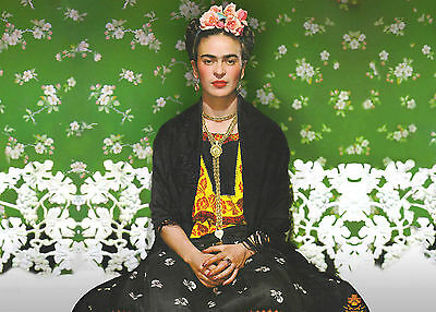 A3 Size - Frida Kahlo 1 Painting Popular Gift / Wall Decor Art Print Poster