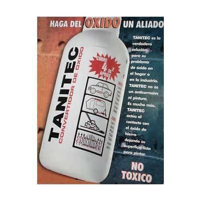 TANITEC EXCELLENT RUST TREATMENT REMOVER CONVERTER 180 CC. / 6 Oz. !!!