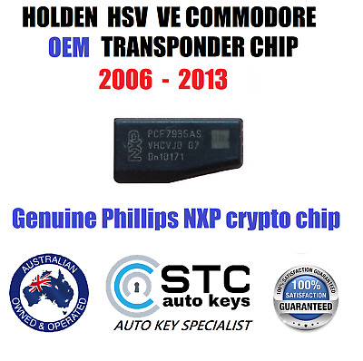 Holden Commodore Ve Hsv Sv6 Id46 46 Transponder Key Chip 2006-2013